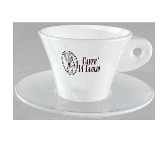 Cappuccino Coffee Cup 14 July - Set of 12 cups